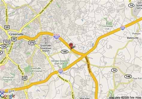 map of greenville carolina map of crowne plaza greenville greenville