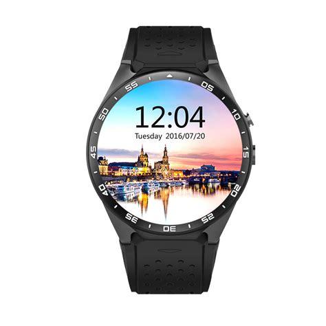 Flexi 3 Gps Original 100 original kw88 3g wifi gps smartwatch android 5 1
