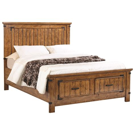 california king bed with drawers coaster brenner 205260kw california king storage bed with