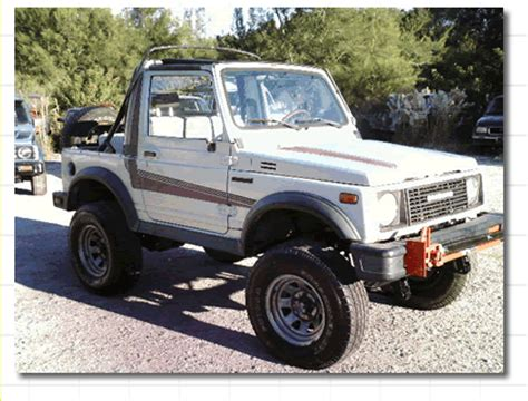 Lightning Suzuki Repower Your Suzuki Samurai With A V6 Or V8 Engin E