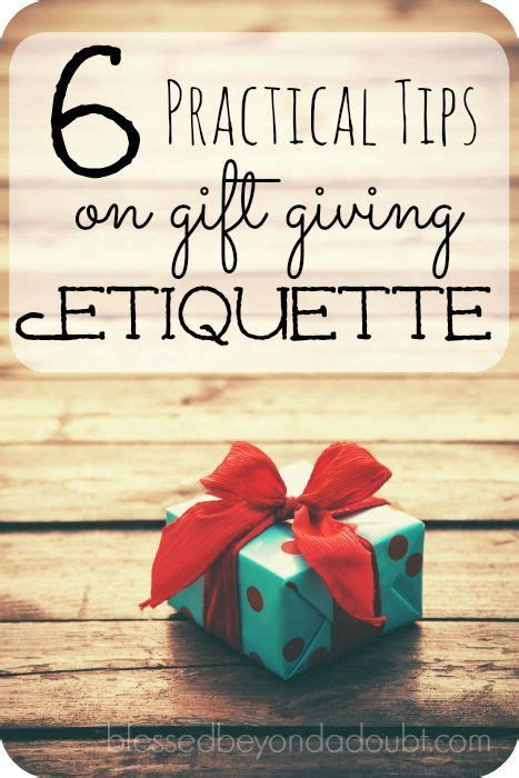 6 tips on gift giving etiquette tis the season we and