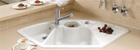 die kitchen collection uk high quality corner sink from villeroy boch