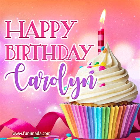 happy birthday gifs  carolyn   funimadacom