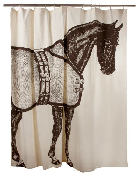 horse shower curtains luxury shower curtain horse contemporary shower