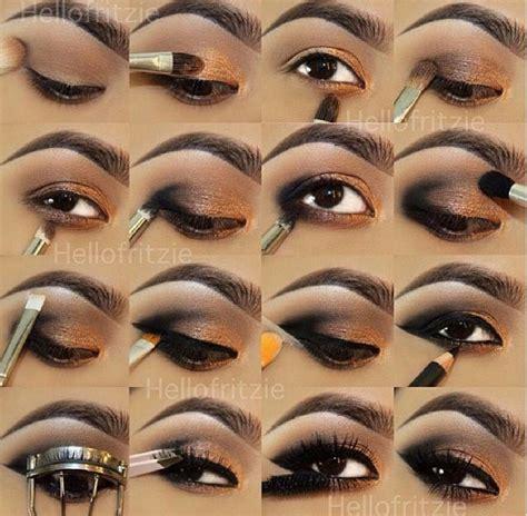 Tutorial Eyeshadow Wardah Seri E eyeshadow tutorial tips beat that up eyeshadow steps makeup and