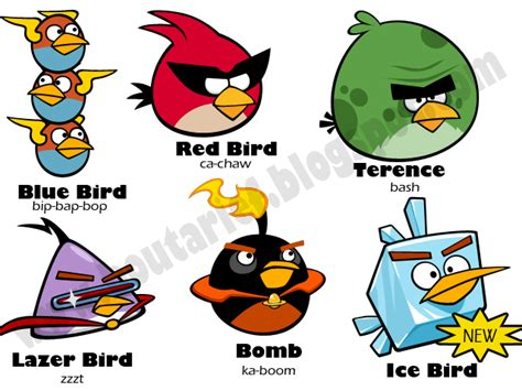 Komik Level Summer Time In angry bird space white bird