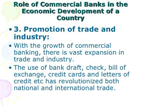 Letter Of Credit Meaning In Economics Of Commercial Banks In The Economic Development Of A Country