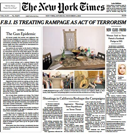 the new york times publishes media confidential ny times publishes front page editorial