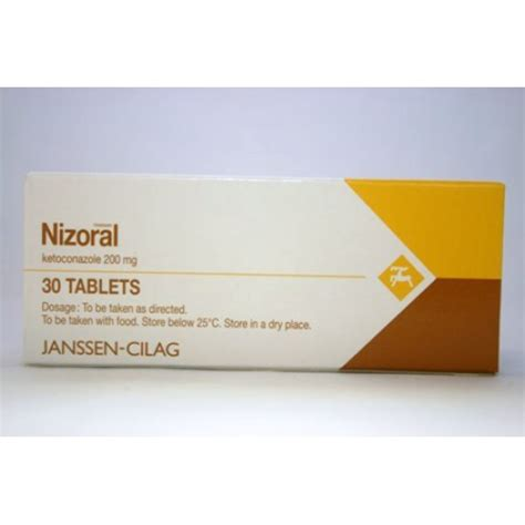 Tablet Ketoconazole nizoral 200mg tablets rosheta