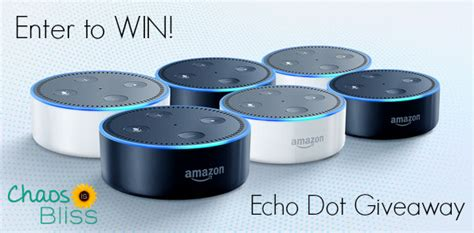How To Win Amazon Giveaways - giveaway enter to win an amazon echo dot