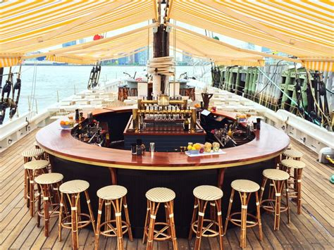 floating boat restaurant news best outdoor dining in new york city restaurants food