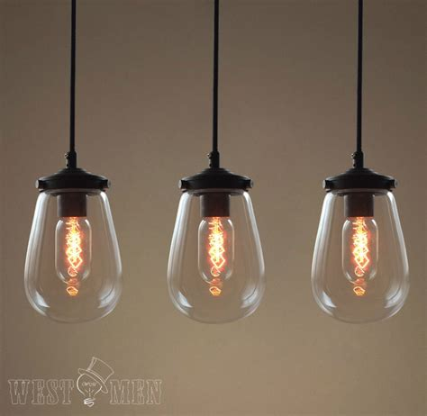 Hanging Light Kitchen 2014 Sales Pendant Lights Modern Clear Glass Globe Pendant Lights Edison Bulbs