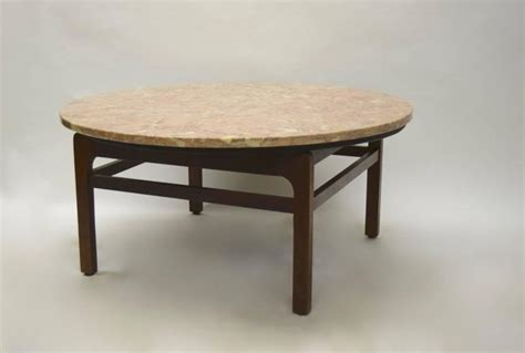 Pink Coffee Table Pink Marble Coffee Table By Jens Risom Circa 1960 American At 1stdibs