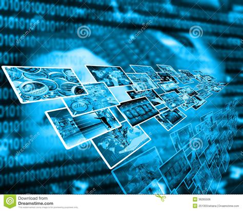 theme definition technology interface stock photo image of digital perspective