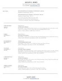 sle resume resume exles for managers in retail sle