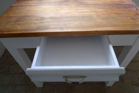 butcher block esszimmertisch kleiner tisch mit schublade kleiner tisch mit schublade