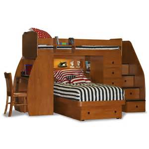 Twin Bunk Beds With Desk » Home Design 2017