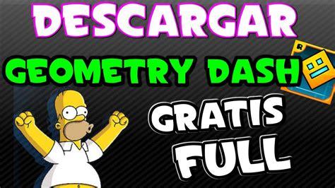 geometry dash full version pobierz como descargar geometry dash 2 0 ultima version 2015 youtube