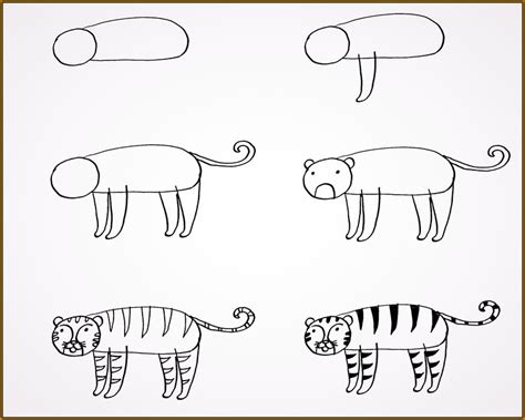 imagenes de jaguar para dibujar faciles como dibujar tigres para ni 241 os faciles de dibujar fotos