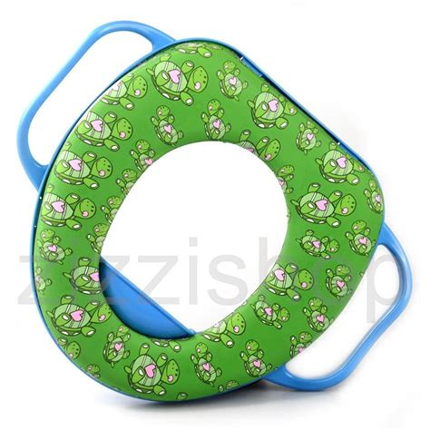 Soft Baby Potty Seat With Handle Karakter Sofia Toilet new potty toilet seat soft padded baby toddler chair with handles ebay