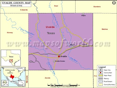 map of uvalde texas uvalde county map map of uvalde county texas