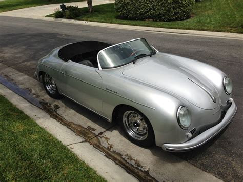 vintage porsche for sale 1956 porsche 356 speedster roadster replica by vintage