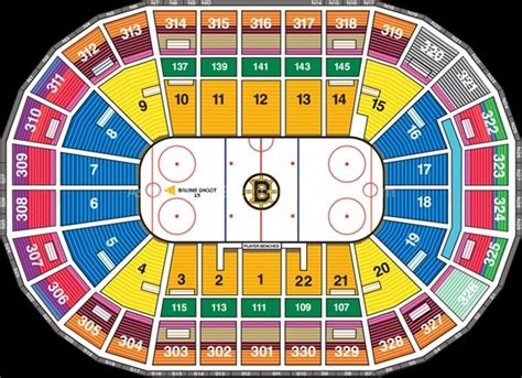 td garden seating td garden boston ma seating chart view