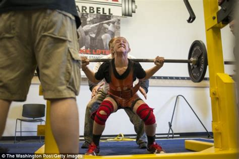 old man bench press meet the 14 year old weightlifter who can lift more than