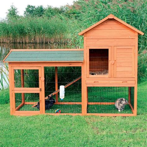 Trixie Rabbit Hutches trixie rabbit hutch with outdoor run small www