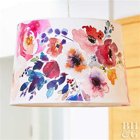 Decoupage Lshade With Fabric - creative ways to reinvent a lshade
