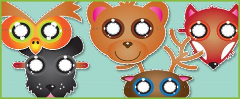 new year animal masks free animal play masks free early years primary
