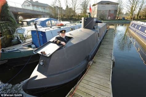 small jet boats for sale uk homemade u boat which sails in an english canal goes on