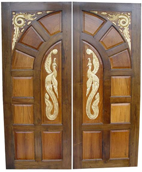 double door designs new kerala model wooden front door double door designs
