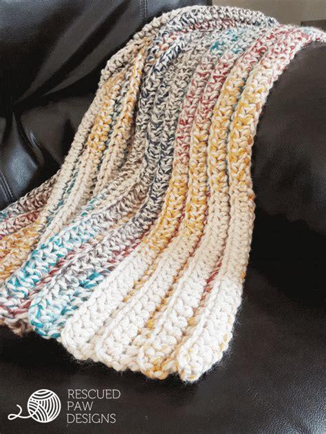 Crochet Throw Blanket Pattern by Chunky Crochet Blanket Pattern Free Crochet Pattern