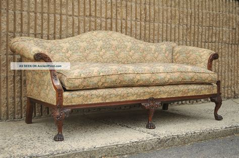 vintage couch styles gorgeous antique chippendale sofa 139 antique chippendale