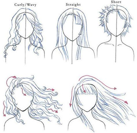 how to draw doodle hair hair drawing tips in drawing references and resources