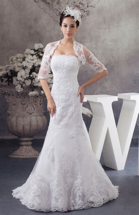 lace bridal gowns mermaid formal glamorous unique simple