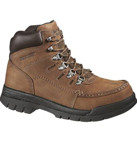 wolverine steel toe work boots for wolverine potomac 6 inch moc steel toe work boot w04349