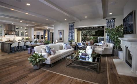 kb home design studio irvine casual coastal defined by airy fabrics open space