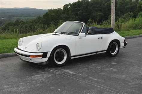 Buy Used 1980 Porsche 911 Sc Convertible In Cleveland