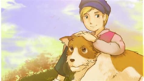a of flanders top 5 cachorros de animes e mang 225 s thementes