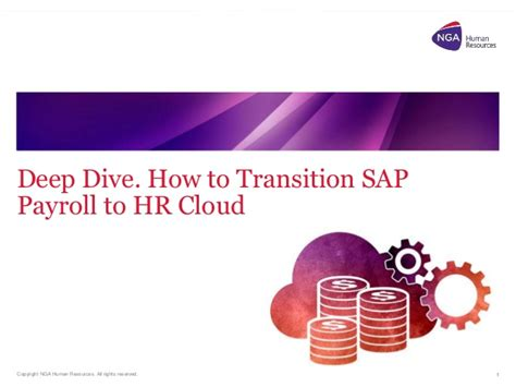 Mba Hr Cloud Payroll by Dive How To Transition Sap Payroll To Hr Cloud