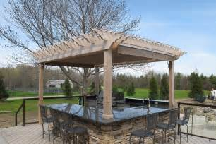 Pergola Kitchen Outdoor by 5 Steps To Designing The Ultimate Outdoor Kitchen