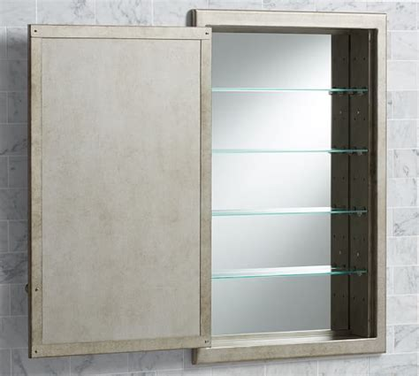 clermont recessed medicine cabinet pottery barn