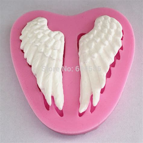 Cake Decorating Molds by Silicone Wing Fondant Silicone Sugar Craft Molds Diy