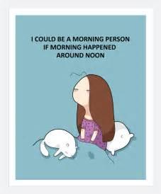 Coffee Wall Stickers morning person print a4 lingvistov