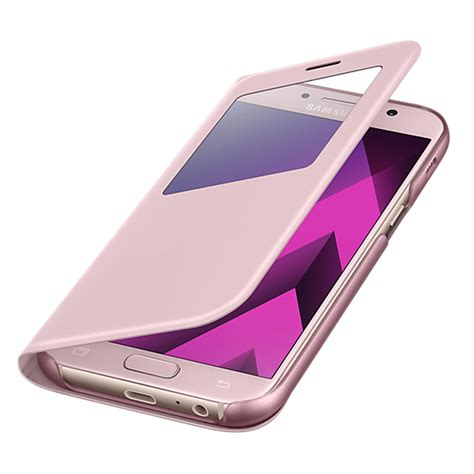 Sview Cover For Samsung A7 2017 Silver bao da samsung galaxy a7 2017 sview cover ch 237 nh h 227 ng samsung