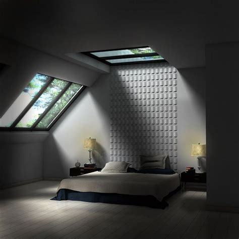 charming Small Game Room Ideas #5: minimalist-attic-bedroom.jpg