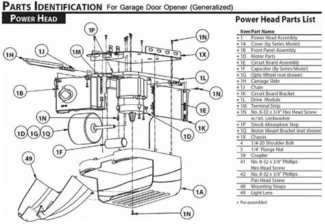 parts for garage doors electric garage door opener stopped working no power