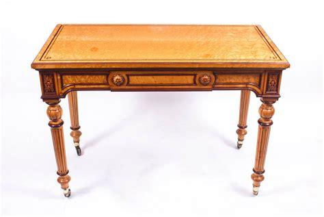 Antique Writing Desk Antique Writing Antique Gillows Style Bird S Eye Maple Writing Table Desk